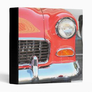 Red Car Avery Binder