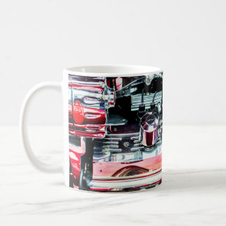Red Car Engine Mug