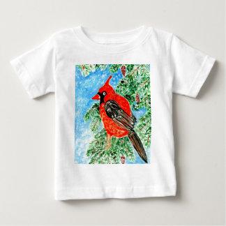 Red Cardinal Art2 Baby T-Shirt