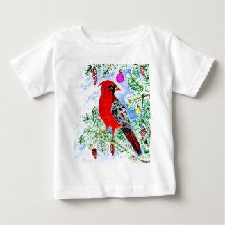 Red Cardinal Art Baby T-Shirt