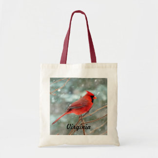 Red Cardinal Bird Bag