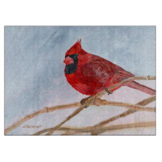 Red Cardinal Cutting Board