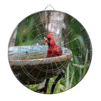 red cardinal dartboard
