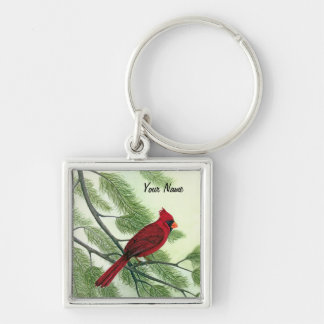 Red Cardinal - Keychain
