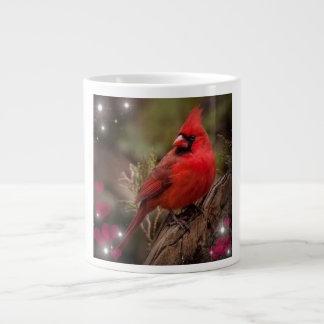 Red Cardinal Large Coffee Mug