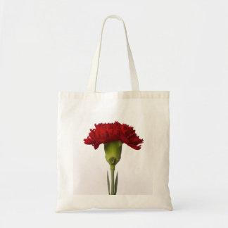 Red Carnation Bloom Bag