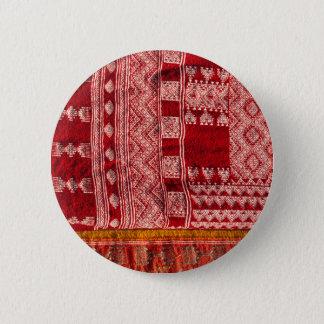 Red Carpet At Market 2 Inch Round Button