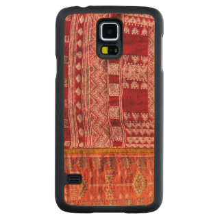 Red Carpet At Market Carved Maple Galaxy S5 Case
