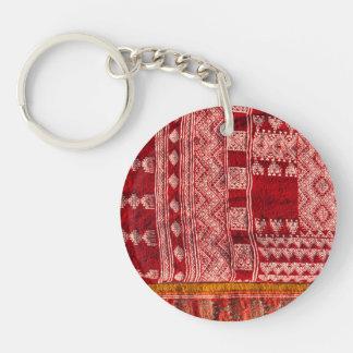 Red Carpet At Market Keychain
