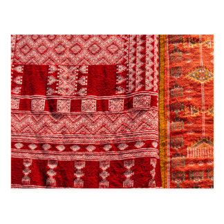 Red Carpet At Market Postcard