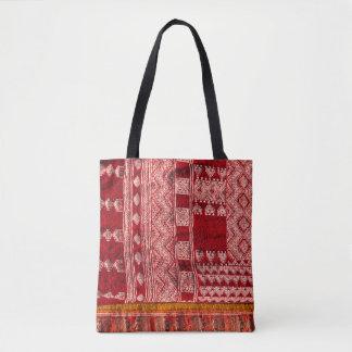 Red Carpet At Market Tote Bag