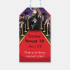 Red Carpet Hollywood Sweet 16 Favour | Gift Tags