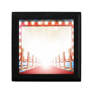 Red Carpet Light Bulb Sign Gift Box