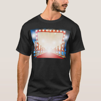 Red Carpet Light Bulb Sign T-Shirt