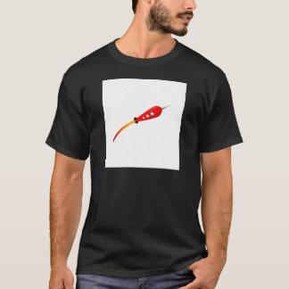 Red Cartoon Rocket T-Shirt