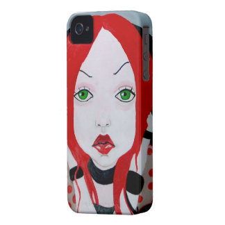 red Case-Mate Case iPhone 4 Cover