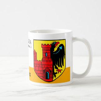 Red Castle with Black Eagle from Haapsalu Estonia Coffee Mug