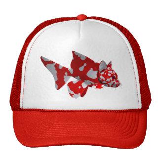 Red Catfish Trucker Hat