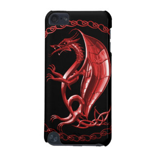 Red Celtic Dragon iPod Touch (5th Generation) Case