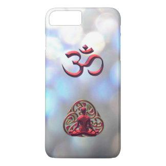 Red Celtic Meditation OM-Symbol iPhone 7 Plus Case