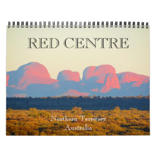red centre 2018 wall calendars
