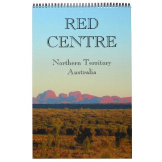 red centre australia wall calendars