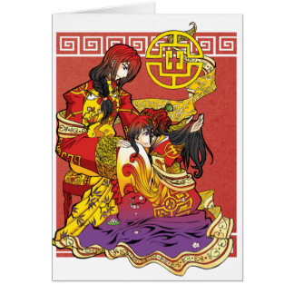 Red Chain of Royal Love card