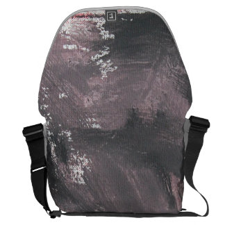 Red Chalk and Black Ink Commuter Bag