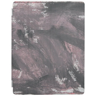 Red Chalk and Black Ink iPad Cover