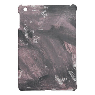 Red Chalk and Black Ink iPad Mini Cases
