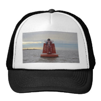 Red Channel Buoy Trucker Hat