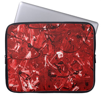 Red Chaos Laptop Sleeve
