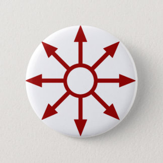 Red Chaote Sigil 2 Inch Round Button