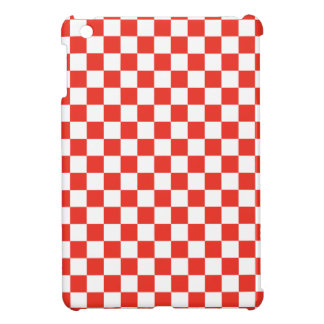 Red Checkerboard Cover For The iPad Mini