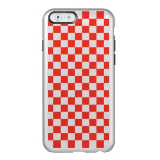 Red Checkerboard Incipio Feather® Shine iPhone 6 Case