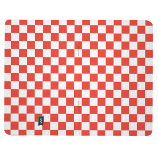 Red Checkerboard Journal