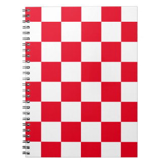 Red Checkered Notebook