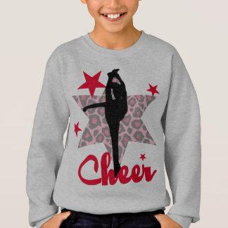 Red Cheerleader girls sweatshirt