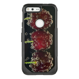 Red cherries in the water OtterBox commuter google pixel case