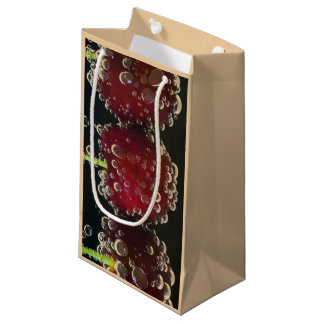 Red cherries in the water small gift bag