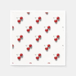 Red Cherries Paper Napkin