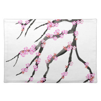 Red Cherry Blossom 32, Tony Fernandes Placemat