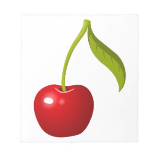 Red Cherry Notepad