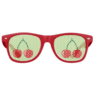 Red cherry party shades | Funny fruit sunglasses