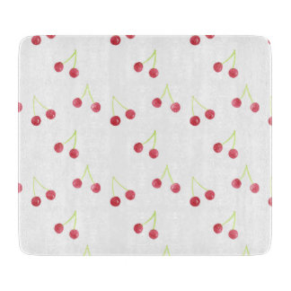 Red cherry pattern glass mat boards