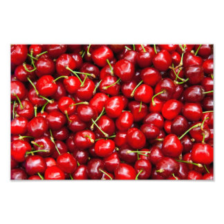 Red Cherry Photographic Print