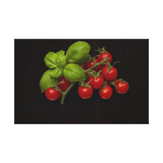 Red Cherry Tomatoes Canvas Print