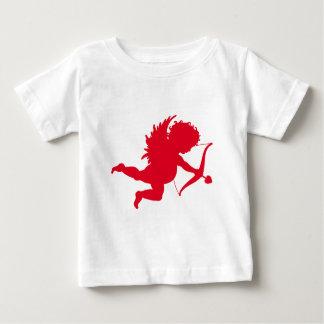 RED CHERUB SILHOUETTE.png Baby T-Shirt