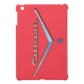 RED CHEVROLET iPad MINI CASE