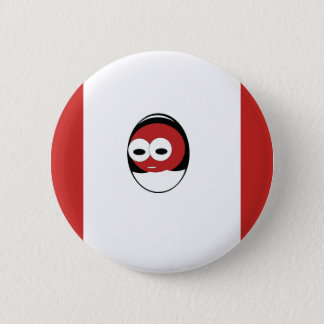 Red Chick 2 Inch Round Button